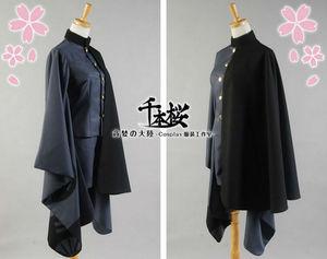 Image 4 - 千本桜vocaloid鏡音レンコスプレ衣装着物軍制服の布女性ハロウィン