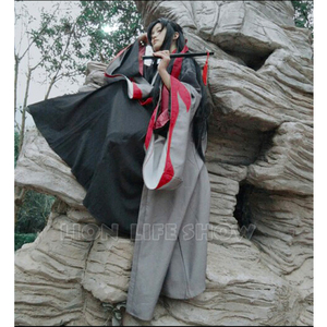 Image 4 - Grandmaster of Demonic Cultivation Wei Wuxian Cosplay Hair Wig Factory 110cm long