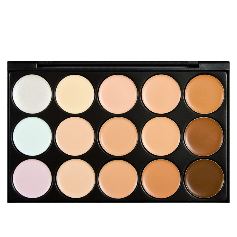 FREE Shipping Special Professional 15 Color Concealer Color 1 Facial Face Cream Care Camouflage Makeup Palettes Cosmetic