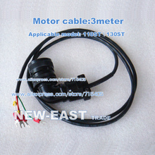 Free Shipping  3m ( 3meter ) 110ST \ 130ST Servo Motor Cable for 110ST \ 130ST series Servo Motor Cable 2017 limited promotion motor for sewing machine 1 5kw ac servo motor kits 10n m 1500w 1500rpm 130st 130st m10015 matched driver