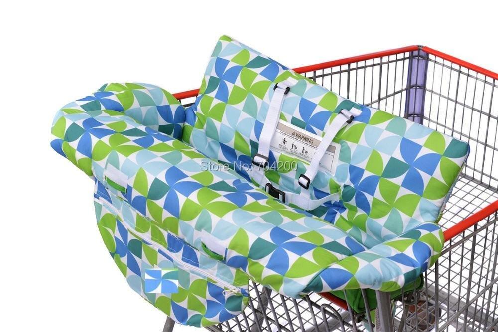 Costco Размер тележка для продуктов чехол для детского сидения, Ресторан высокий стул-мягкие вставки Держатель для мальчиков, девочек, младенцев