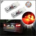 (2) de Alta Potencia 12-SMD-2835 7443 7444 T20 Rojo Brillante LED Bombillas de Repuesto Para la Señal de Vuelta Luces, Luces de la cola, Luces de freno