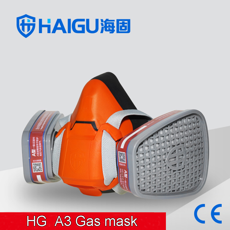 602 A3 respirator gas mask Efficient Silica gel Synthesis protective mask against Spray paint pesticide chemical gas mask yihu gas mask blue two pot efficient respirator gas mask paint spray pesticides industrial safety protective mask