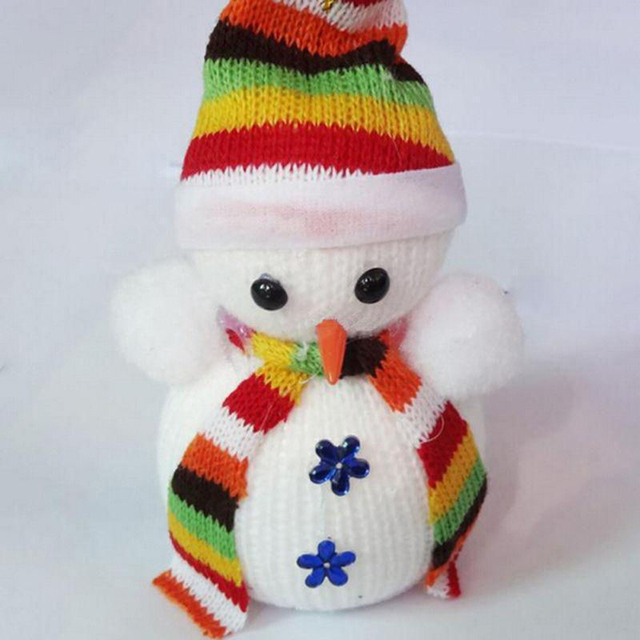 Christmas Snowman Hanging Doll