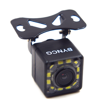Universal Car Rear View Camera 12 LED Night Vision Reversing Auto Parking Assistance Monitor CCD Waterproof Wide Degree HD Video 4