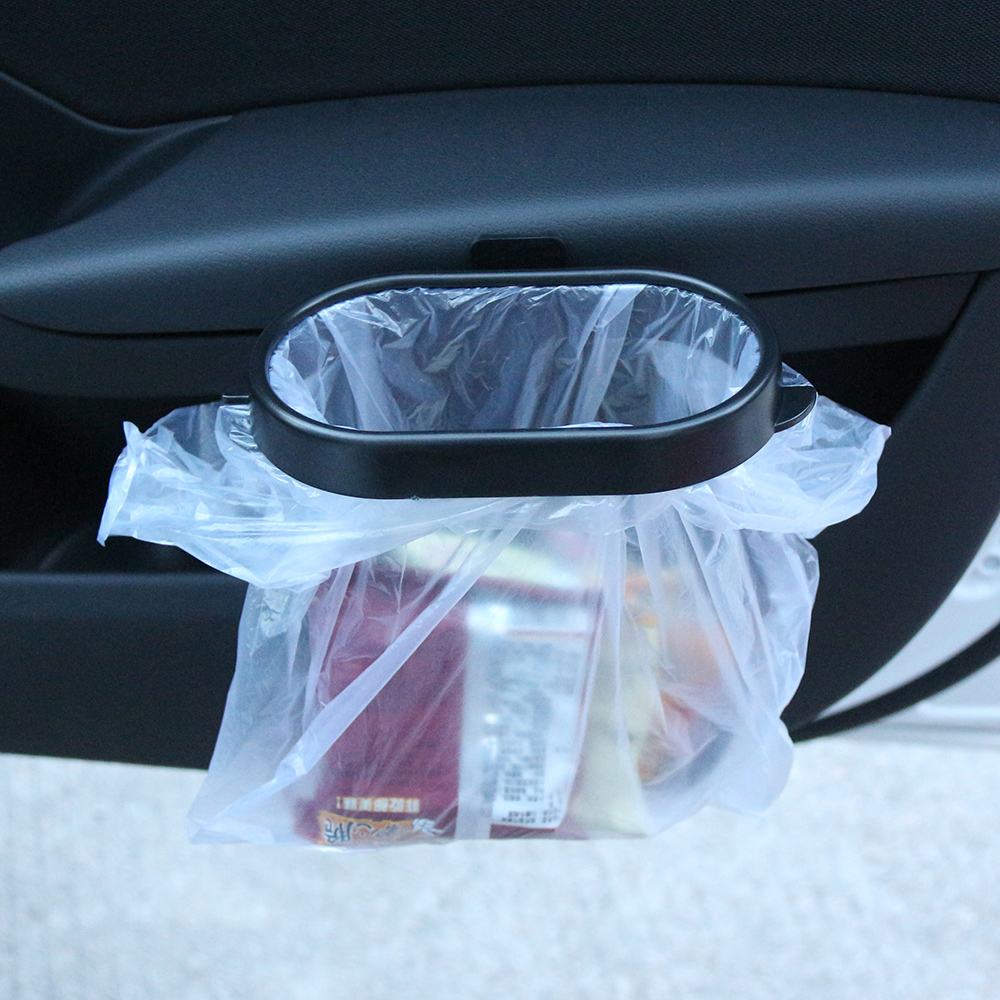 Useful Foldable Car Trash Bin Frame Auto Garbage Bin Auto Rubbish Storage Waste Organizer Holder Bag Bucket Accessories