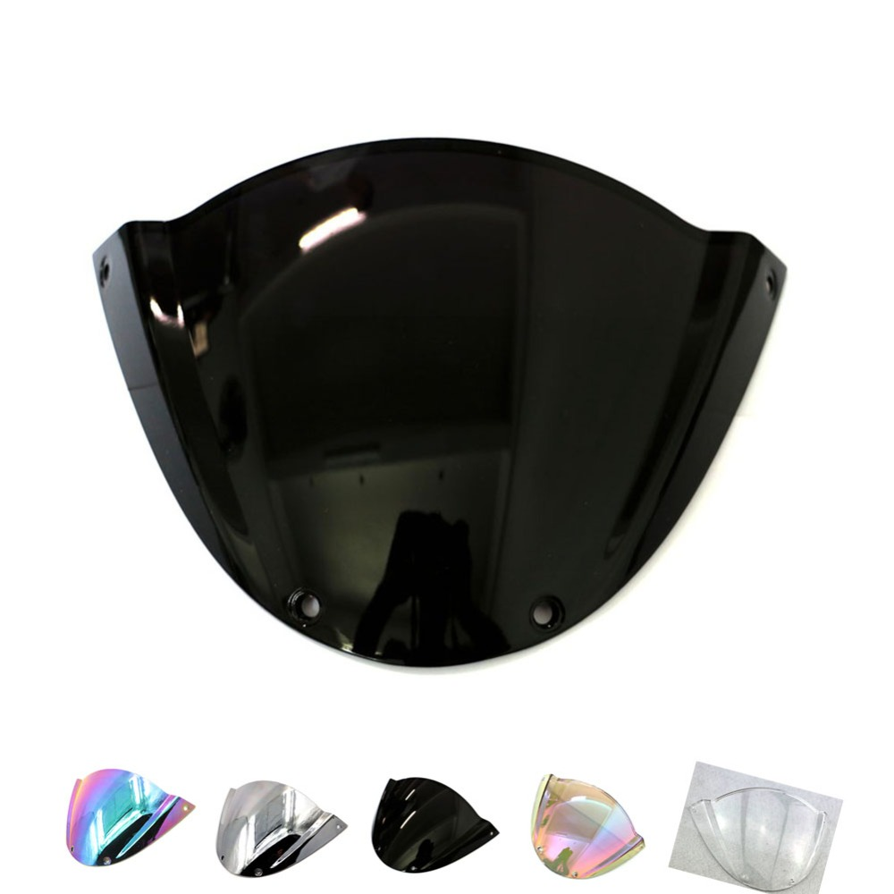 For Ducati Monster 696 09-13 796 11001100s1100ABS Windscreen Windshield Double Bubble Black Clear Iridium