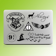 "Harry Potter Thème Decal Sticker pour Ordinateur Portable pour Macbook Pro Retina Air 11 ""12"" 13 ""14"" 15.6 pouce Mac Couverture Peau Ordinateur Portable HP Stciker"