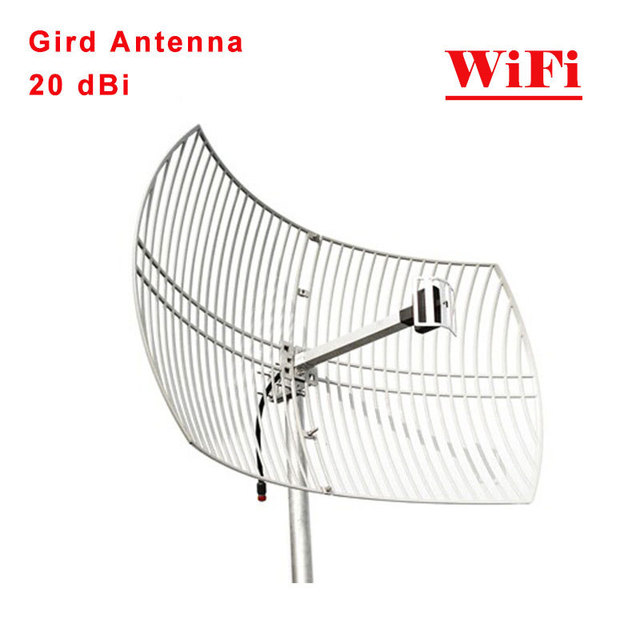WiFi Grid Antenna 20dbi Outdoor For 24GHz 24dBi WIFI Square Parabolic Mesh Use