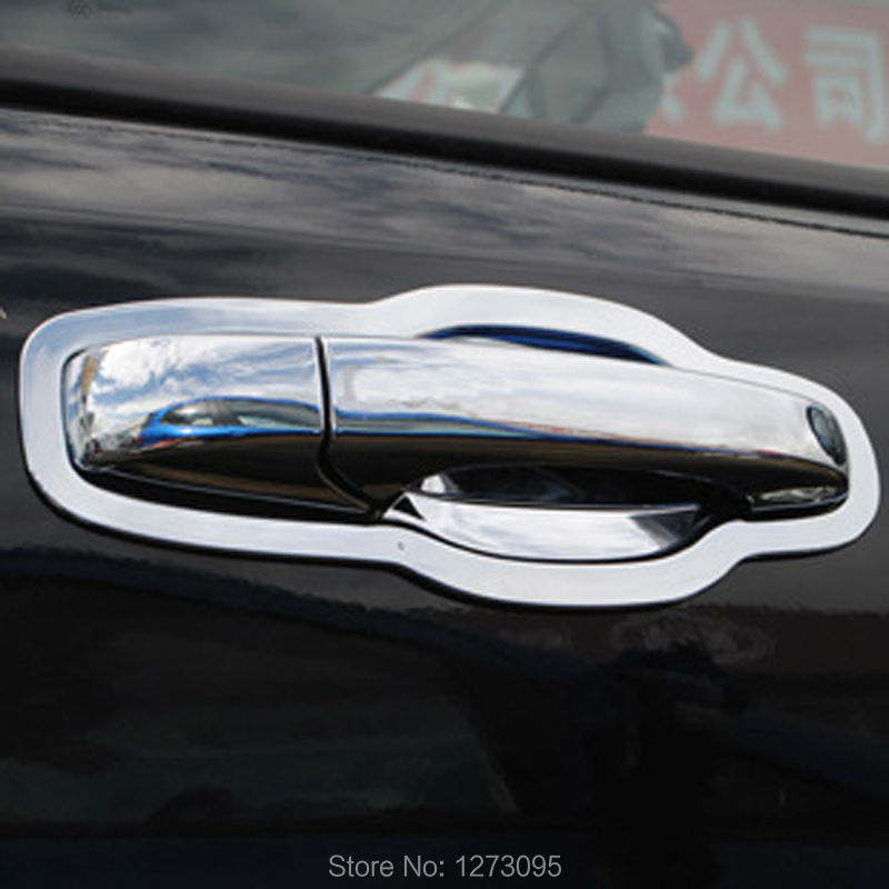 16 Pcsset Abs Chrome Car Door Handles Cover Bowl For Jeep Grand