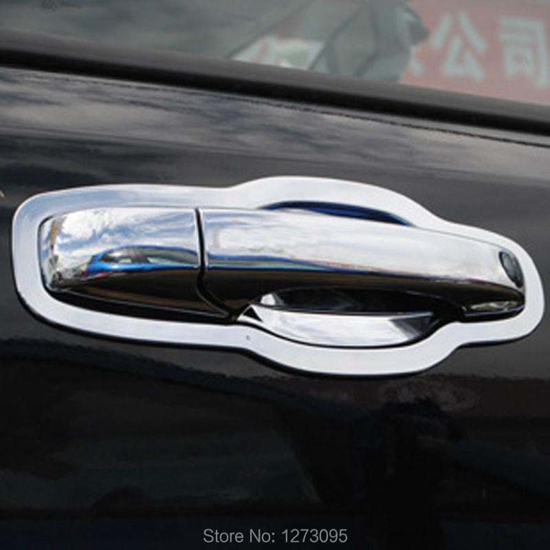 16 pcs/set ABS Chrome Car Door Handles Cover Bowl for Jeep Grand Cherokee 2011- 2014 2015 Rear Door Handle Bowl Trim Accessories car auto accessories rear trunk molding lid cover trim rear trunk trim for nissan sunny versa 2011 abs chrome 1pc per set