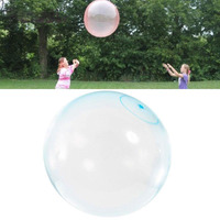 Outdoor 1.8m blue and red color Big Bubble ball Big balloon children toy wubble bubble ball For Children Adults Inflatable Toys