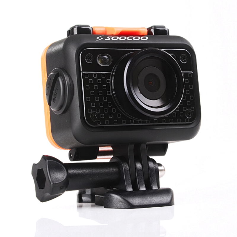 SOOCOO S60B WIFI Sport Action Camera 1080P/30FPS 12MP 1080P Anti-Shock 20M Waterproof Outdoor Sport Camcorder Mini Cam цена