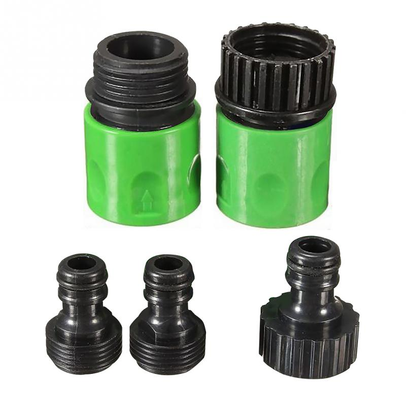Home Garden 3/4 Inch Hose ABS Plastic Quick Connect Tap Adapter Connector Adapter