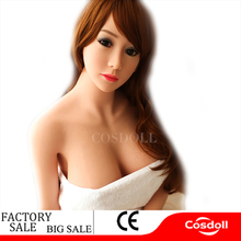 Cosdoll 158cm Real Sex Dolls With Metal Skeleton ,3D Vagina Oral Anal Sex, Sexy Mouth Love Doll Sex Doll For Men Sex Products
