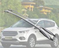 High Quality ALUMINIUM ALLOY CAR ROOF RACK BAGGAGE LUGGAGE BAR FIT FOR FORD KUGA 2013 2014 2015 2016 2017 2018