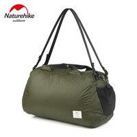 Naturehike Unisex 20D Nylon Folding Sport Bags Lightweight Outdoor Handbag Bags For Travel Cycling Swimming Storage