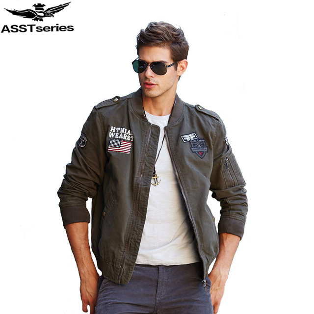 6f0b5a401 US $38.99 35% OFF|2018 Tactical Military Jacket Men Men's Air Force Bomber  Jacket Army Windbreaker Waterproof Autumn Militar Style Male Coat .DA43-in  ...