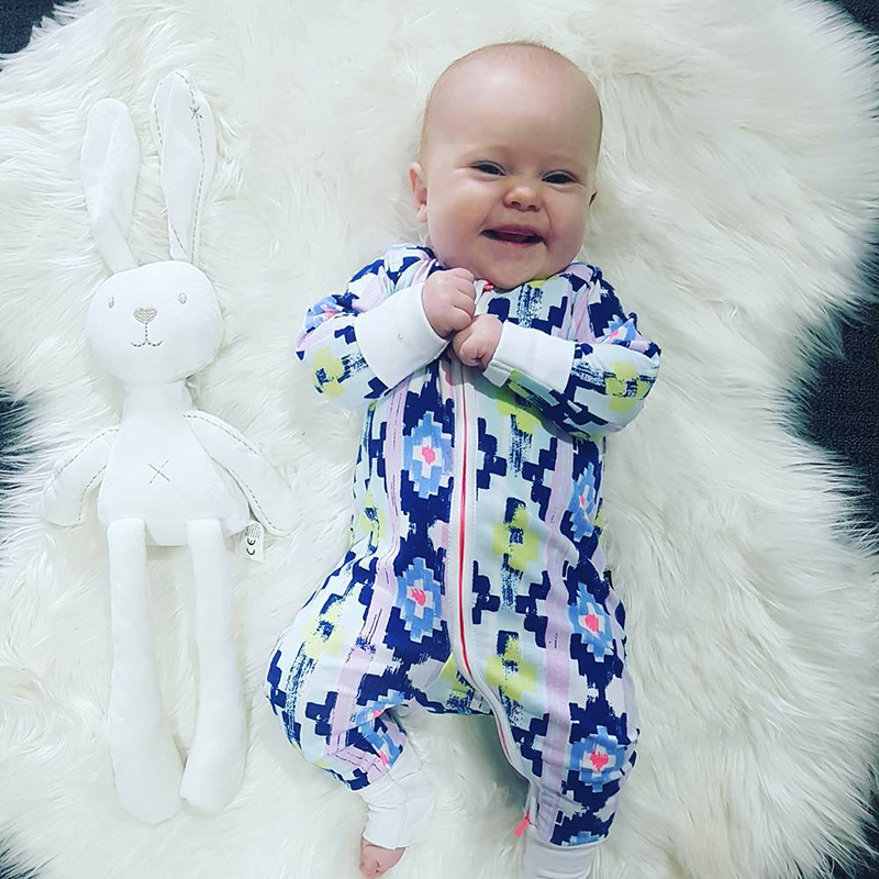 Rare Puzzle Wondersuit Printed Long Sleeve Baby Boy Girl Clothes 100% Cotton Jumpsuit Tiny Cottons Baby Rompers Newborn цена