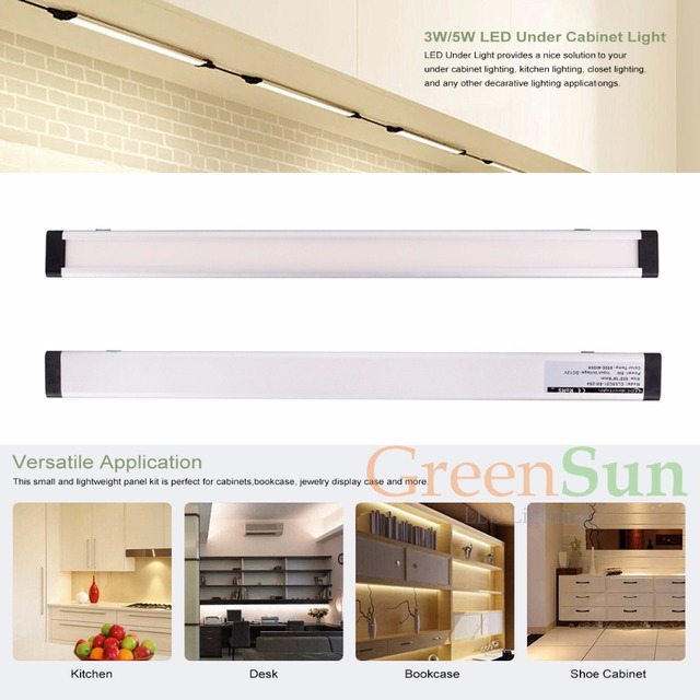 kitchen strip lighting custom kitchen 50cm 5w dimmable kitchen light led linear cabinet strip lights sideemitting bathroom aliexpresscom buy