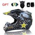 Free Shipping Top ABS Motobiker Helmet Classic Bicycle MTB DH Racing Helmet Motocross Downhill Bike Helmet Free 3 Gift