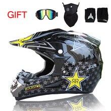 Envío Gratis Top ABS Motobiker Clásico Casco de Bicicleta MTB DH Racing Casco Motocross Downhill Bike Helmet Envío 3 Regalo