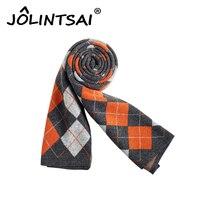 2018 новый бренд зима шарф Для мужчин Шарфы для женщин для Рождественский подарок 4 цвета плед Одеяло шарф 190*30 мужские платки и шарфы для женщи...