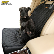 CANDY KENNEL Luxury Thickened Pet Dog Cat Car Carrier Bucket Basket Front Seat Anchors Waterproof Drop Shipping D1084