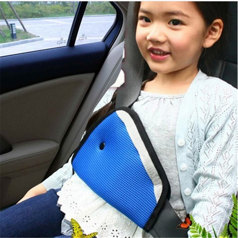 Protection Positioner Breathable Triangle Baby Kids Car Safe Fit Seat Belt Adjuster Device Auto Safety Belt Cover Child Neck