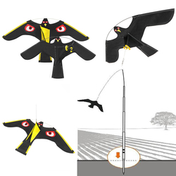 Nowa emulacja latający jastrząb odstraszacz ptaków napęd ptak latawiec do ogrodu strach na wróble Yard Home w Środki odstraszające od Dom i ogród na