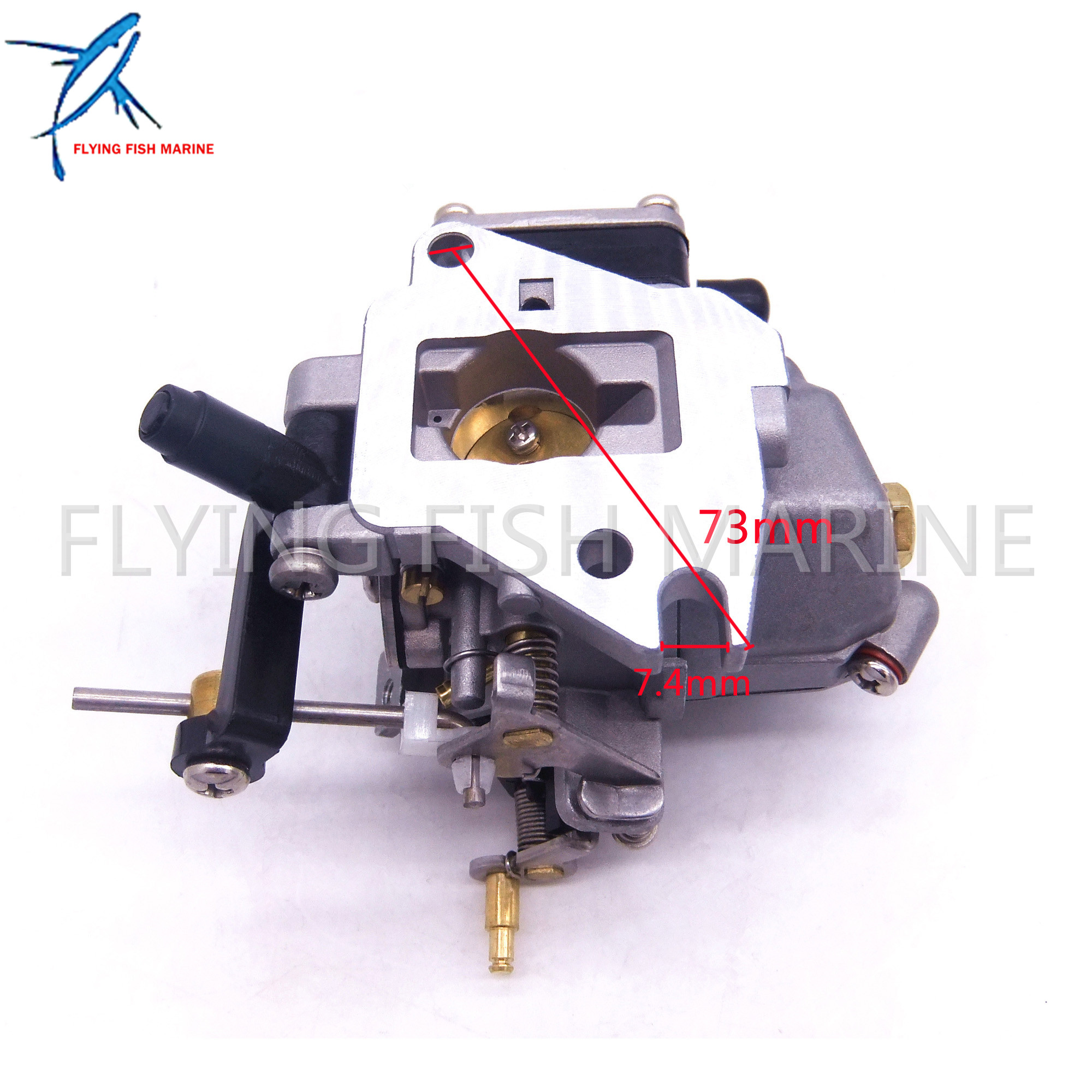 6E8-14301-05 6E7-14301 684-14301 2-stroke 9.9hp 15hp Boat Motor Carburetor Carb assy For Yamaha Outboard Engines boat engines 2e