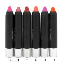 Дамы с прочного водонепроницаемого помады ручка увлажнитель легко носить губы карандаш корейский карандаш для губ косметика макияж губы(China (Mainland))