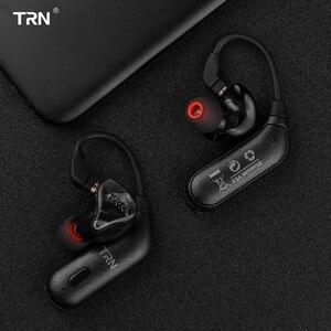 Image 5 - AK TRN BT20S/ BT20S Pro APTX سماعة لاسلكية تعمل بالبلوتوث 5.0 خطاف الأذن HIFI سماعة ل TRN X6/IM1IM2/V80/v30v90 Revonext QT5QT2