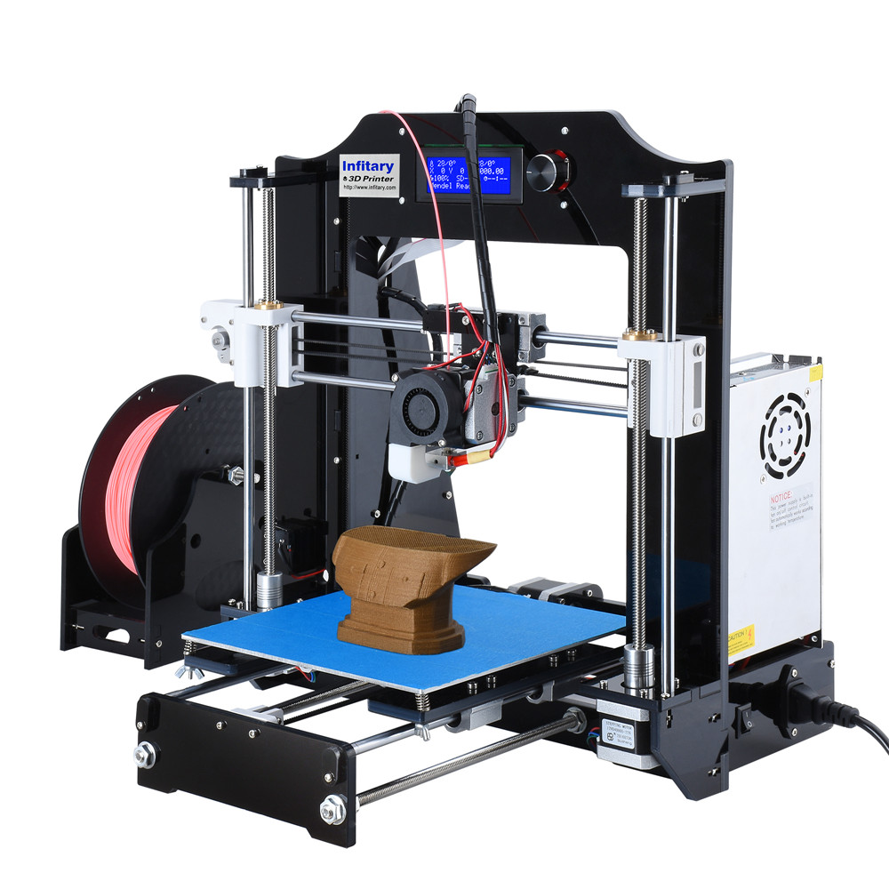 High Quality Infitary M508 3d printer Electronic Kit with 60 Meters PLA Filaments Original Arduino Mega2560