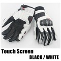 Men's Genuine Leather Motorcycle Gloves CARBON Protect Daines Motorbike Gloves Touch Screen Driving Racing Riding Moto Gloves