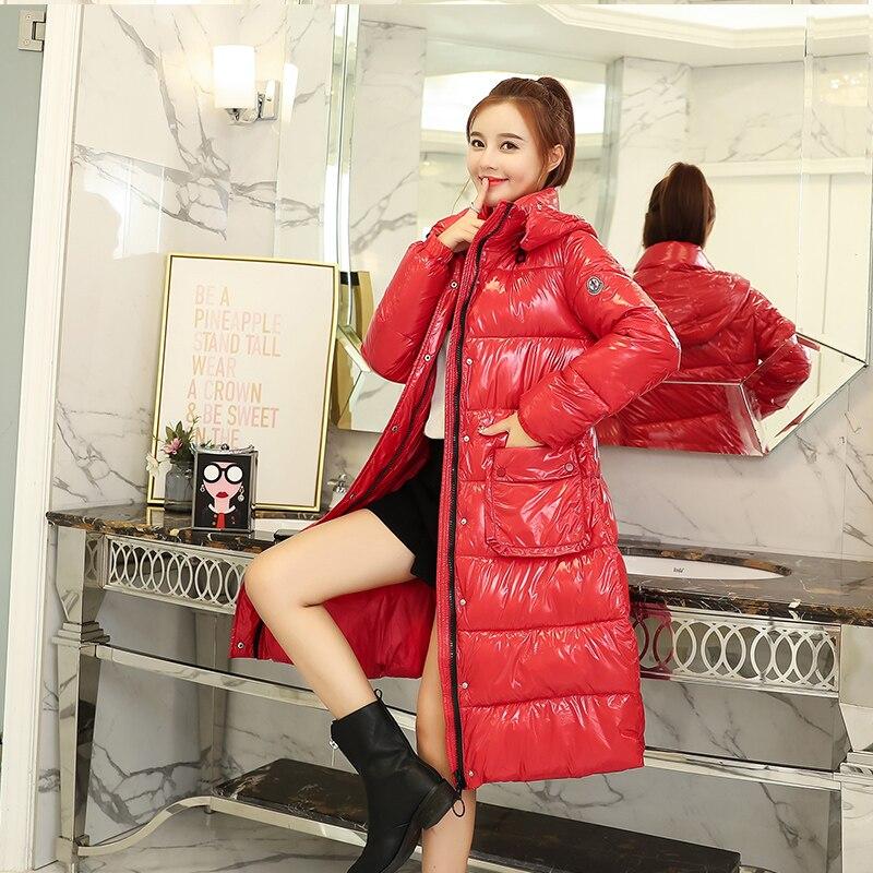 2018 New Arrival Winter Jacket Women Warm Thicken Rainproof Outwear For Womens Hooded Female Coat Long