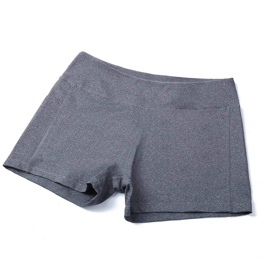 New Women Yoga Shorts Solid Color Running Sweatpants Pilates Dancing Fitness Shorts LMH66