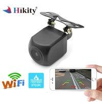 Hikity WIFI Car Rear View Camera Metal body Rearview Camera Car Park Monitor Mini Parking Reverse Night vision Backup Camera