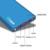 DCAE Nueva Batería Del Li-polímero Banco de la Energía 12000 mAh Dual USB Batería Externa powerbank Cargador Portátil para Móviles teléfono