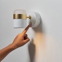 Творческий декор для стен настенный светильник скандинавские современные Спальня прикроватные Lampapplique Murale подвес Ванная комната зеркало ф