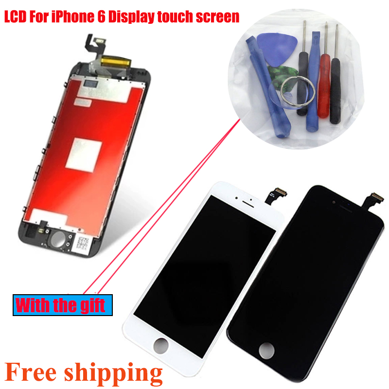 4.7 inch LCD For iPhone 6 Display touch screen with digitizer assembly replacement parts No Dead Pixel Grade AAA Free shipping gulliver бэлло yw710270