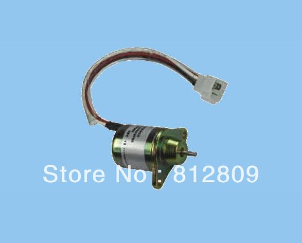 FUEL SHUTOFF SOLENOID 12V 1503ES-12A5UC4S ,1G925-60011  ,3143301-406 ,2 years quality warranty 1700 4061 fuel shutoff solenoid 1753es 12v for tl140 free shipping