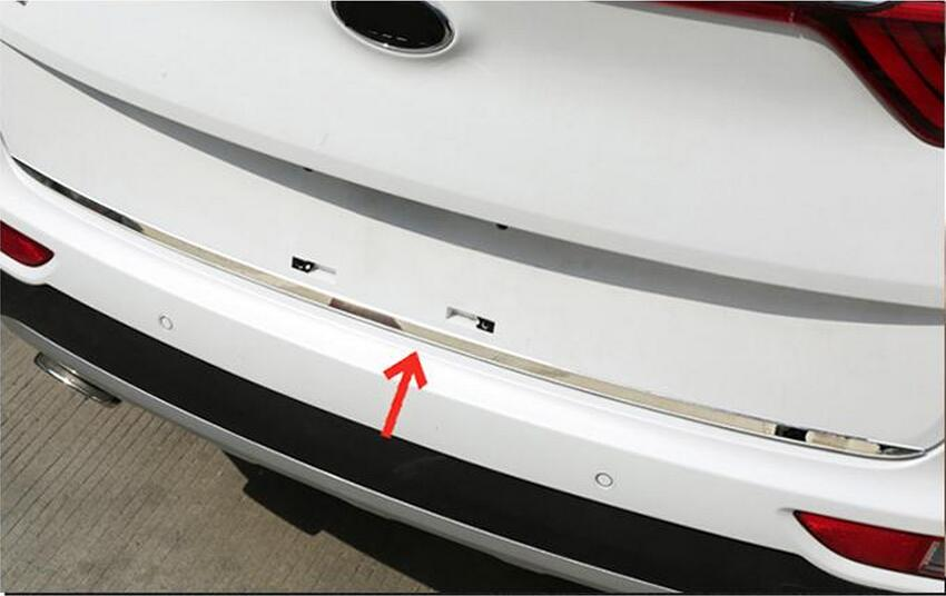 Chrome Rear Trunk Tailgate Door Lid Cover Boot Trim