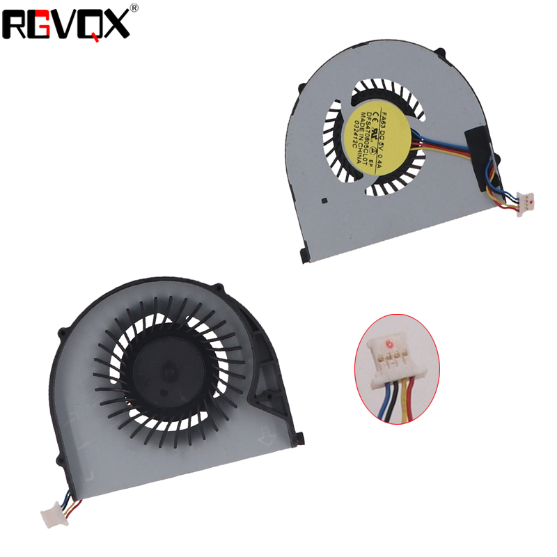 New Original Laptop Cooling Fan for LENOVO V370 V370A V370G PN: DFS470805CLOT Replacement CPU Cooler/Radiator