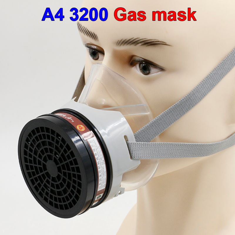 A-4 3200 Gas masks protective mask respirator against painting dust storms formaldehyde pesticides spraying mask yihu gas masks protective mask respirator against painting dust storms formaldehyde pesticides spraying mask