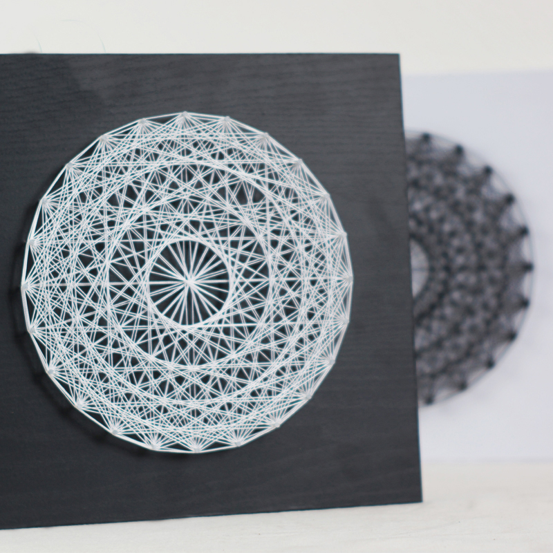 Us 70 39 3d String Art Abstract Dream Catcher Circular Yarn Painting Secret Nest Wedding Decoration Diy Kit Special Gifts For Friends In Painting