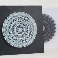 3D String art Abstract dream catcher circular yarn painting secret nest wedding decoration DIY kit special gifts for friends