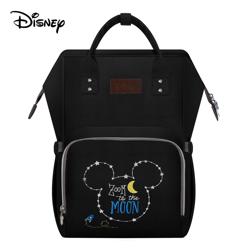 Disney Diaper Bag usb Baby Care travel backpack for Mom Dry and wet separation Maternity Wet