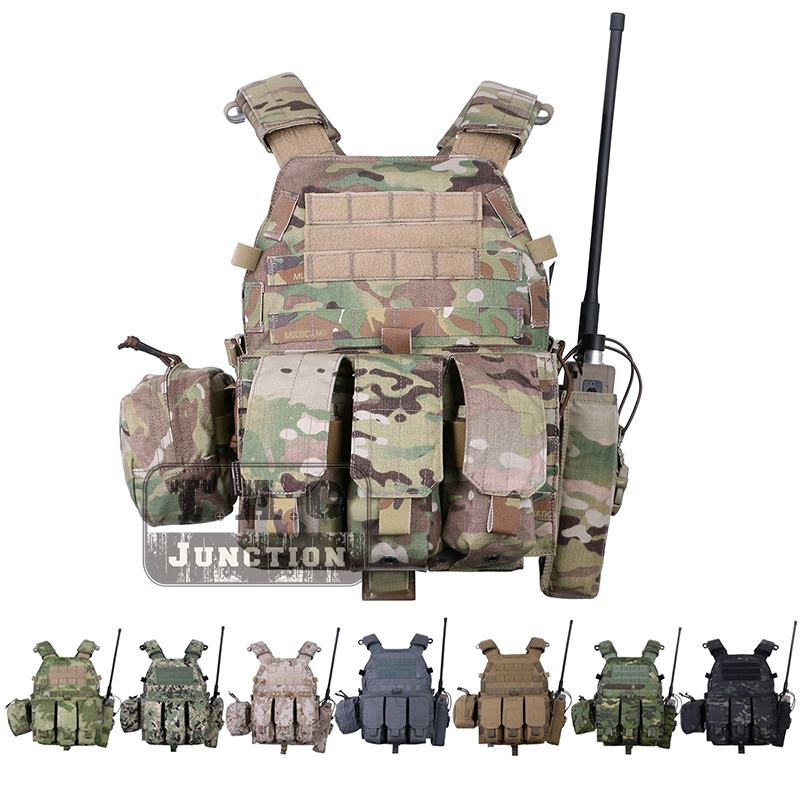 Emerson LBT 6094A Tactical Vest Body Armor With Mag Pouches Airsoft Paintball Military Army Combat Gear EmersonGear Chest Rig