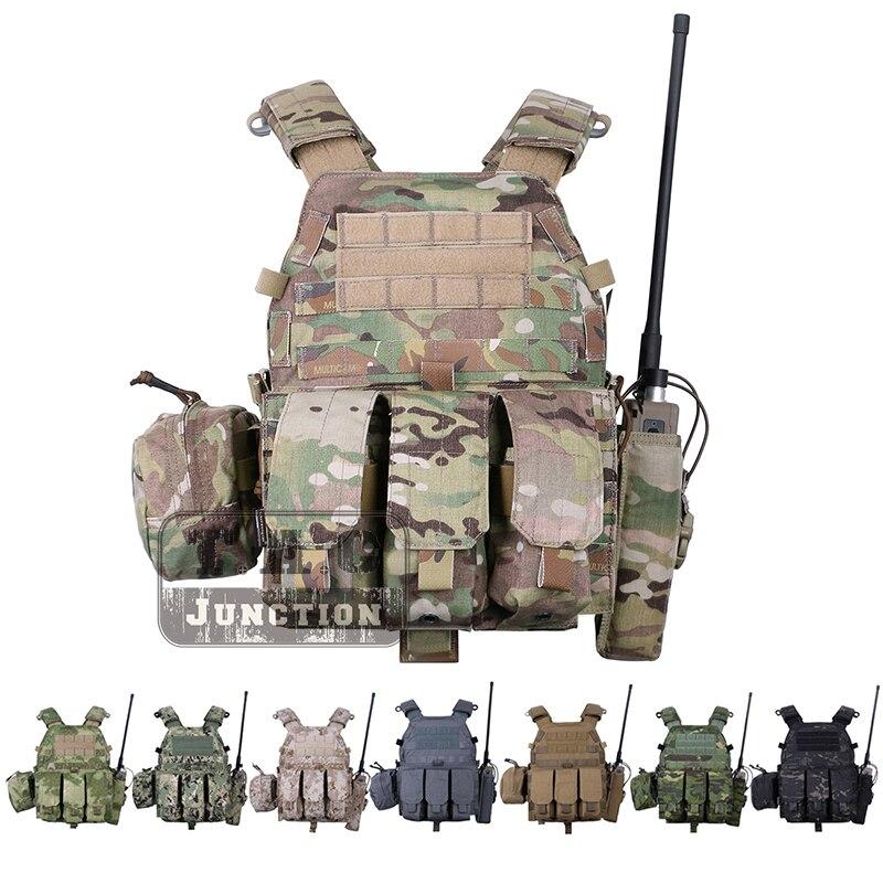 Emerson LBT 6094A Tattico Della Maglia Body Armor Con Mag Borse multiuso Airsoft Paintball Esercito Militare Da Combattimento EmersonGear Chest Rig